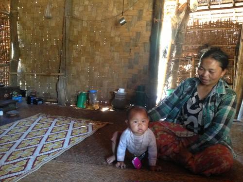 ミャンマーのシングルマザーへの寄付1000円