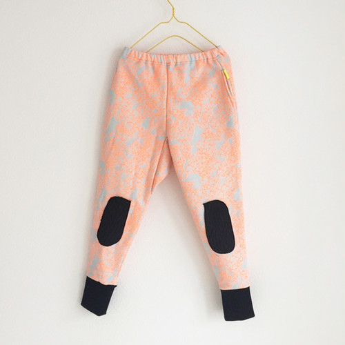4PATTERNS KNEE PATCH SWEAT PANTS / LL