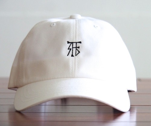 FUJITOSKATEBOARDING Cap  White (Mark ver.)