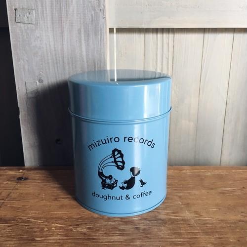 水色レコード オリジナル コーヒー 缶(水色)