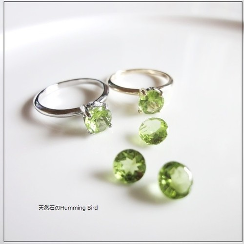 【受注生産】Enochシリーズ■ペリドットの指輪