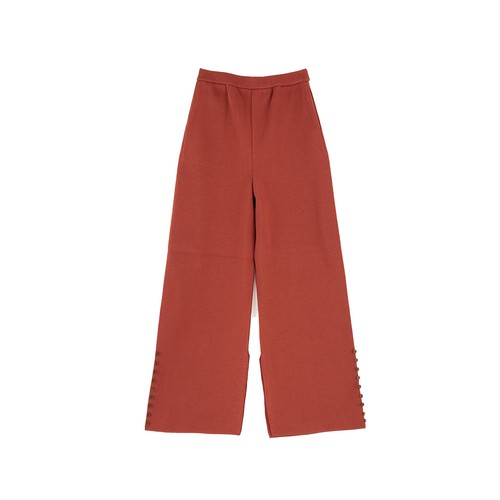 FINE COTTON TAPERED PANTS