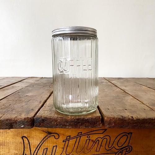 Antique Glass Coffee Jar 3