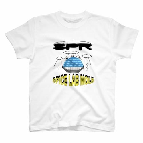 SPiCE Lab mole オリジナルTシャツ(白)