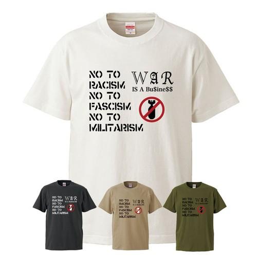 NO TO RACISM NO TO FASCISM NO TO MILITARISM