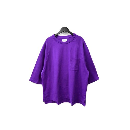yotsuba - Raglan Pocket Tee / PURPLE ¥8500+tax