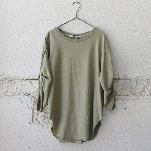 【pelleq】MIDDLE SLEEVE T-SH