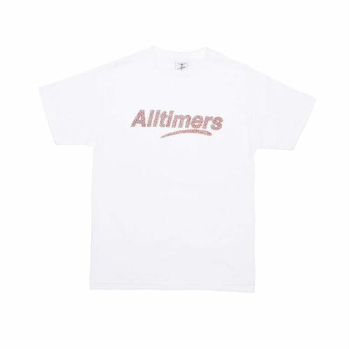 ALLTIMERS(オールタイマーズ) / SPRANKLES TEE -WHITE-