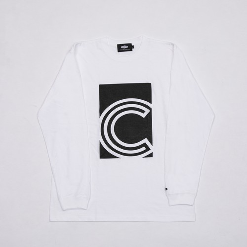 C BOX L/S T-SHIRTS BLACK