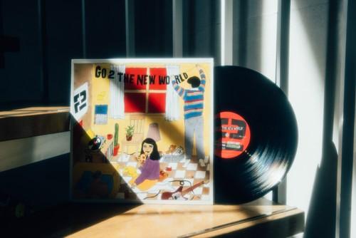 2nd Album「GO 2 THE NEW WORLD」 LP/レコード