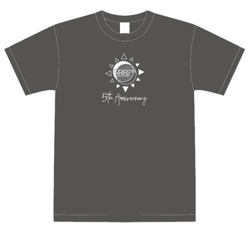 クラソラ5周年Tシャツ(Charcoal)