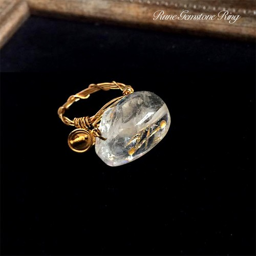Rune Crystalt Ring_Spiritual