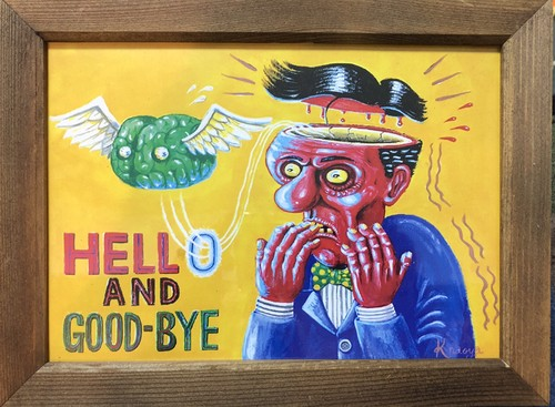 Hello and goodbye(prints)