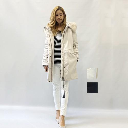 DOUBLE STANDARD CLOTHING(ダブルスタンダードクロージング) ポリエステルボンディングコート 2020冬物新作 [送料無料]