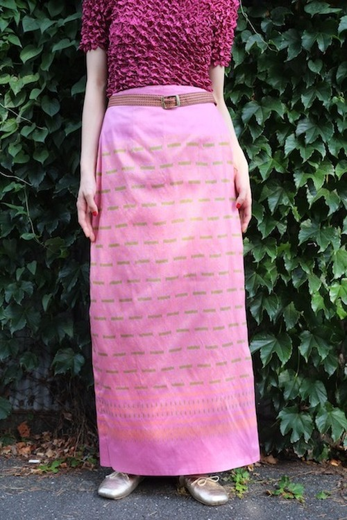 labyrinth garden wrap skirt.