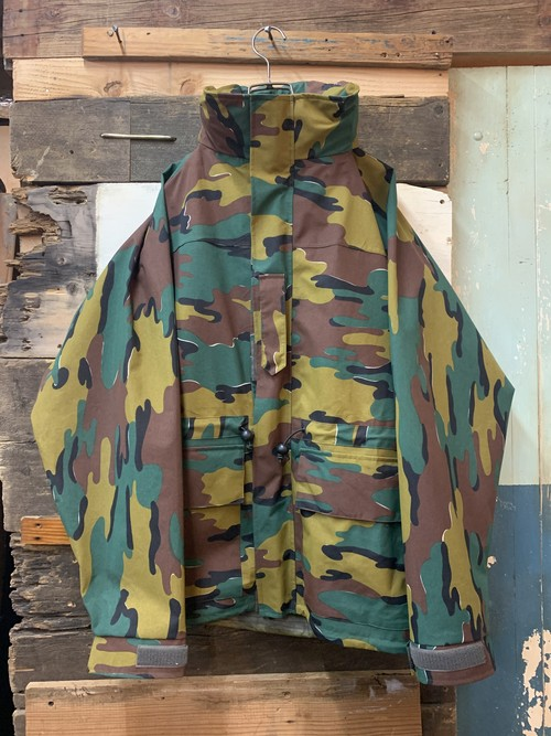 belgian army gore-tex jacket deadstock