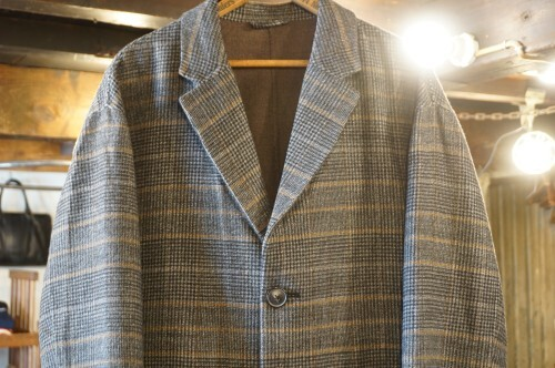 BANANA REPUBLIC wool × polyester glen plaid Coat