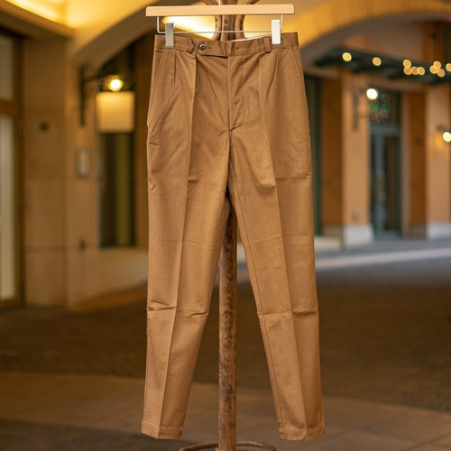 60's COTTON TROUSERS DEADSTOCK - 1