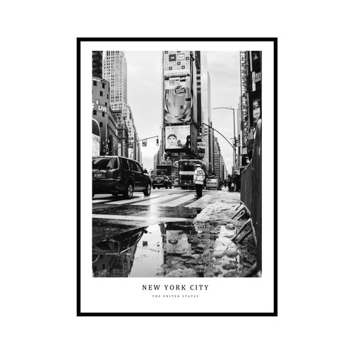 """NEW YORK CITY"" US - POSTER [SD-000592] B4サイズ ポスター単品"