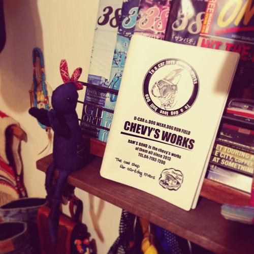chevys works!!オリジナル車検証入れ