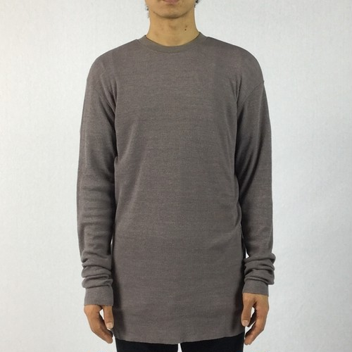 【AG by EXPERIMENT】CREW L/S Grege