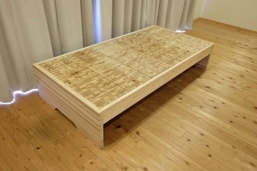 【こぐち】フラット TAKAYUKA(高床)(「眠れる森のSUGI」ベッド)