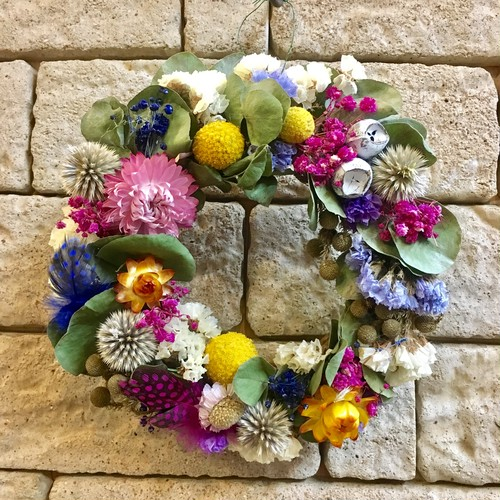 Mix color Wreath
