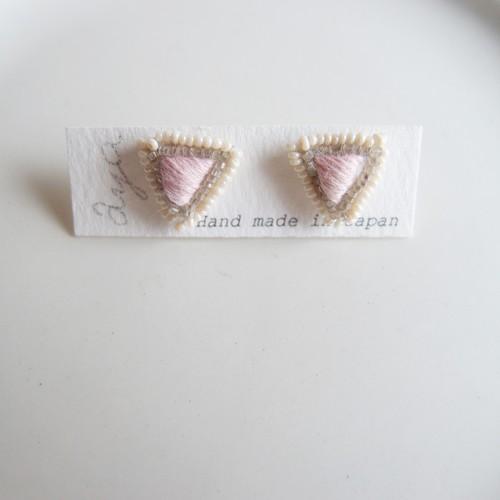 New Cotton Drop 06 ❘  aya 刺繍 ピアス