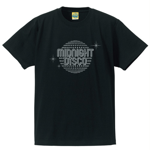[MIDNIGHT DISCO] T-shirt / Black