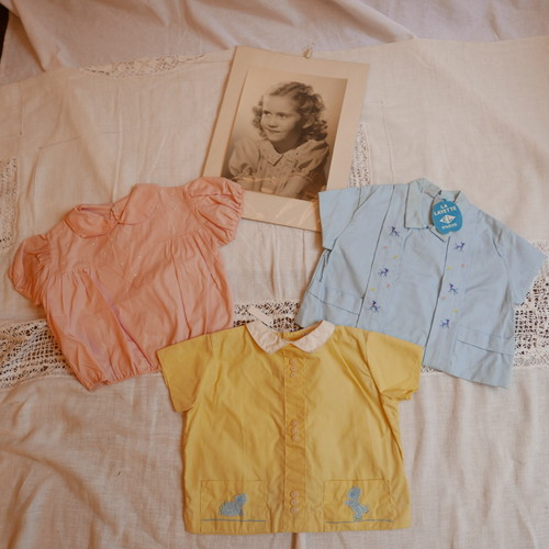 French Baby Blouse 3pairs #4