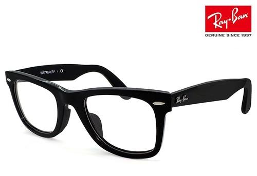 レイバン 眼鏡 メガネ RX5121f 2000 WAYFARER ウェイファーラー Ray-Ban メガネ RB5121f 黒縁 メンズ