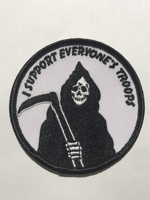 """GOBLINKO""""I SUPPORT EVERYONE'S TROOPS PATCH"""""""