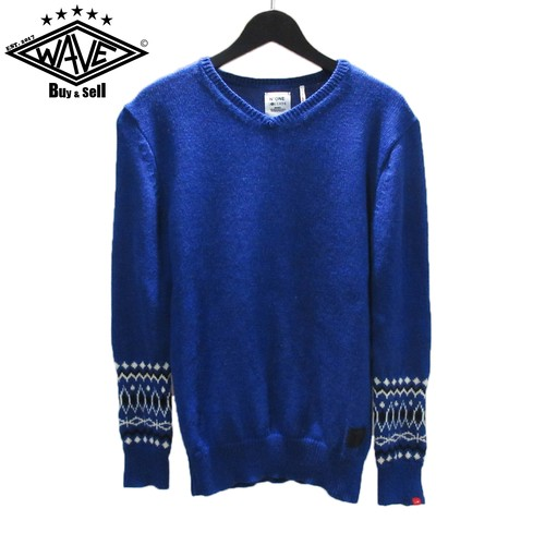 "BEDWIN 12AW V-NECK JACQUARD SWEATER ""MACLISE"""