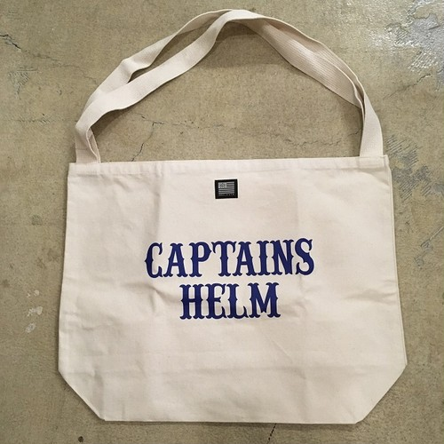 CAPTAINS HELM×BLUE VALENTINE US MADE LOGO BAG
