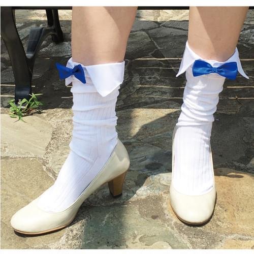 靴下カフス 【お手持ちの靴下に装着 足元おしゃれ】