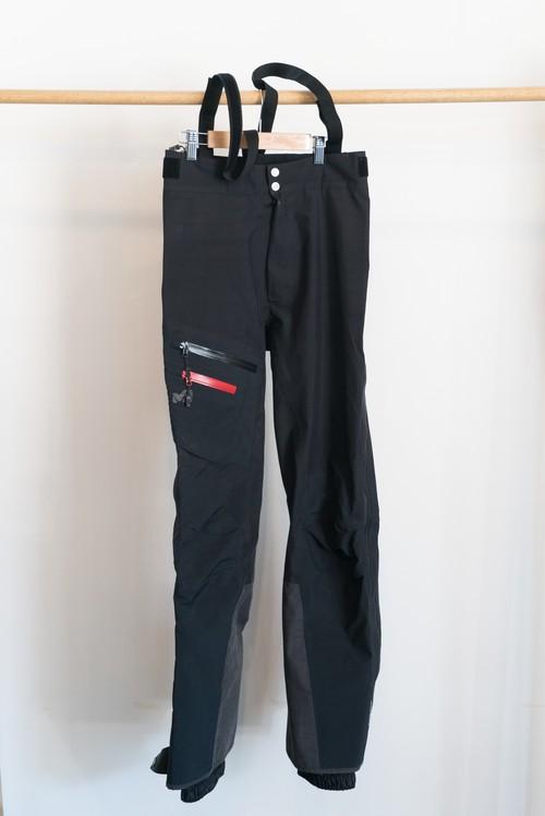【OGZ USED】MILLET K EXPERT GTX PANT / 色: Black / サイズ: S / ミレー ハードシェルパンツ