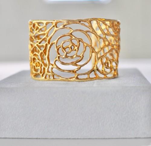 B001G 【Rose Bangle Gold】