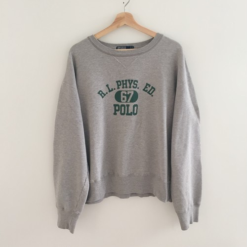 Polo Ralph Lauren Polo 67 Gray Sweatshirt