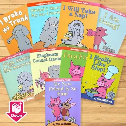 「Elephant and Piggie」シリーズ9冊 Cセット