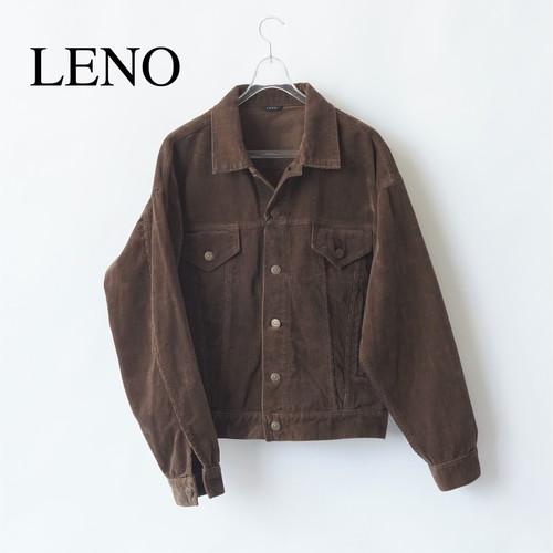 LENO/リノ・CORDUROY BIG TRUCKER JACKET