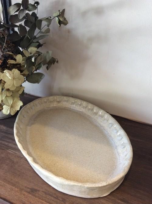 月と魚 グラタン皿