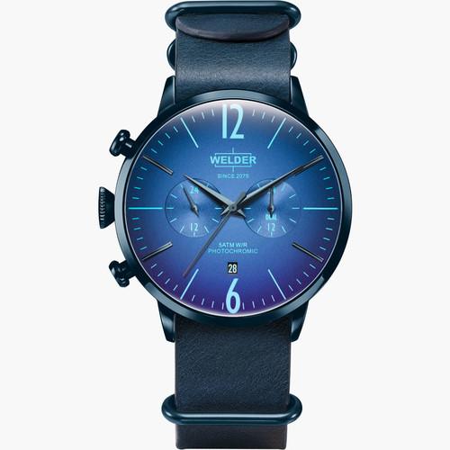 【WELDER ウェルダー】MOODY DUAL TIME 45mm WWRC504 / ムーディー デュアルタイム スイスメイド腕時計