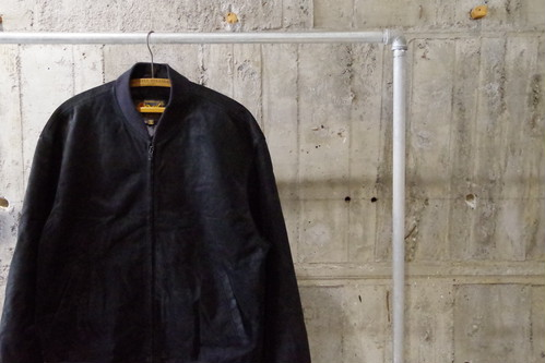Leather blouson(USED)