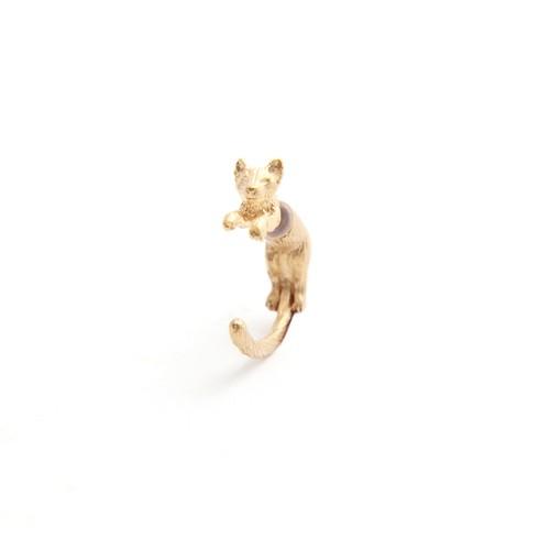 simmon/Cat Body Pierce_Gold(片耳)