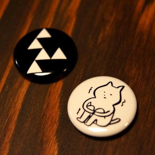ゆざめバッジセット(ロゴ&ゆざめさん)