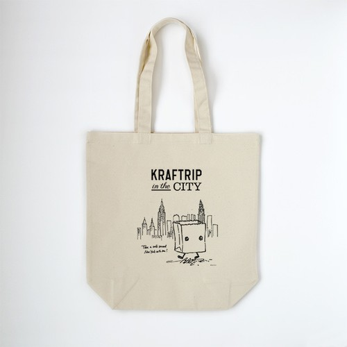 KRAFTRIP IN THE CITY トートバッグ