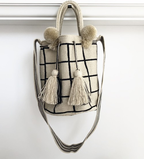 【Pre-order】ワユーバッグ(Wayuu bag) Basic line 2Way Mサイズ