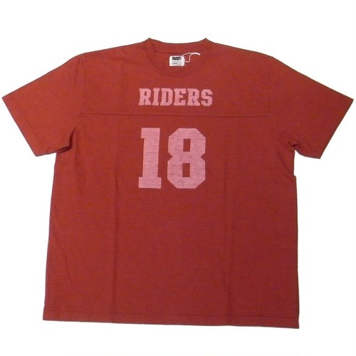 RATS(ラッツ) / FOOTBALL T-SHIRT(17'RTC-0401)(フットボールTシャツ)