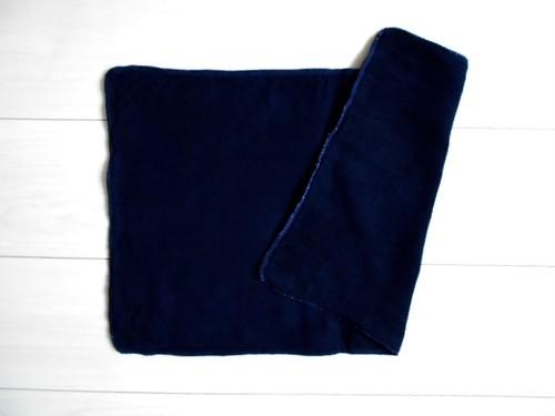 ◆100%自然素材 天然灰汁発酵建て 本藍染◆ 超お薦め!竹布ナプキンパッド(Lサイズ)