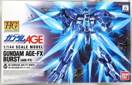 バンダイ 1/144 ガンダムAGE-FX バースト